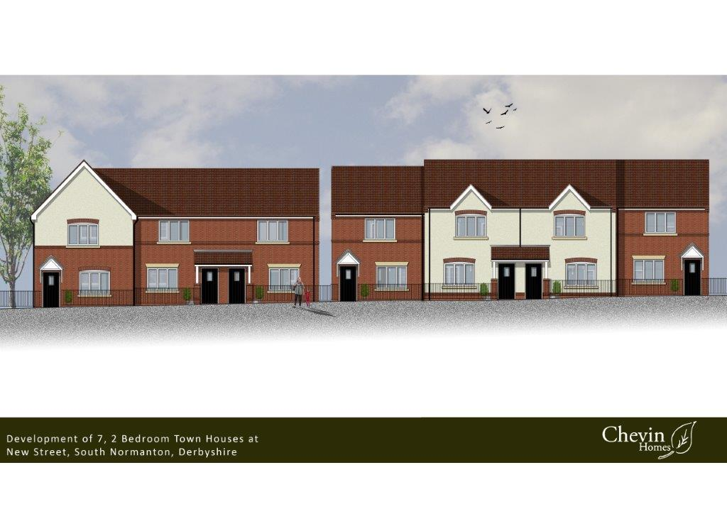 New St South Normanton Revised Coloured Elevation 2 2